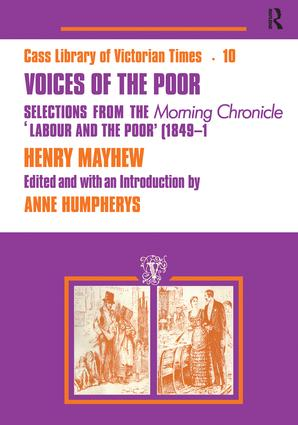 Voices of the Poor: Selections from the