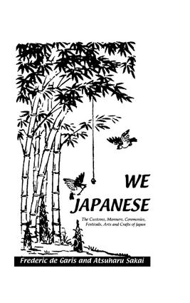 We Japanese: 1st Edition (e-Book) book cover