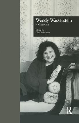Wendy Wasserstein: A Casebook book cover