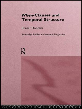 When-Clauses and Temporal Structure book cover