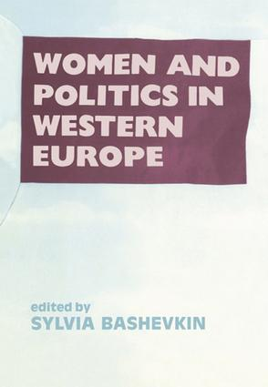 Women and Politics in Western: 1st Edition (Paperback) book cover