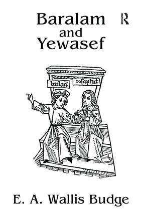 Baralam And Yewasef: 1st Edition (Paperback) book cover
