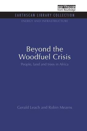 Beyond the Woodfuel Crisis: People, land and trees in Africa book cover