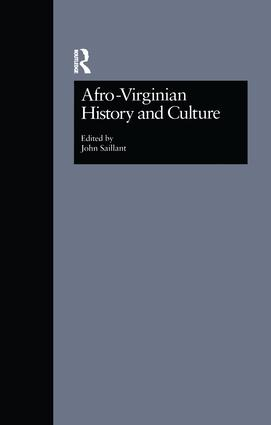 Afro-Virginian History and Culture: 1st Edition (Paperback) book cover