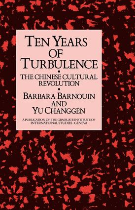 Ten Years Of Turbulence: 1st Edition (Paperback) book cover
