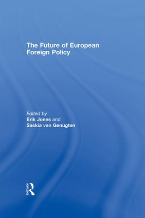The Future of European Foreign Policy book cover