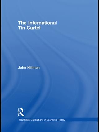 The International Tin Cartel: 1st Edition (Paperback) book cover