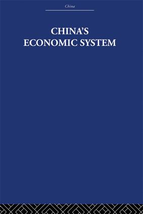 China's Economic System: 1st Edition (Paperback) book cover
