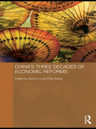 China's Three Decades of Economic Reforms: 1st Edition (Paperback) book cover