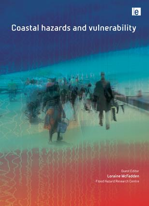 Coastal Hazards and Vulnerability: 1st Edition (Paperback) book cover