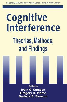 Cognitive Interference: Theories, Methods, and Findings, 1st Edition (Paperback) book cover