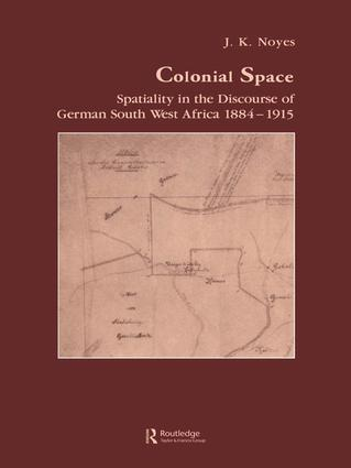 Colonial Space (Paperback) book cover