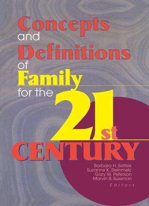 Concepts and Definitions of Family for the 21st Century book cover