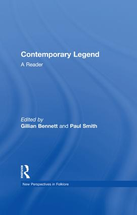Contemporary Legend: A Reader, 1st Edition (Paperback) book cover