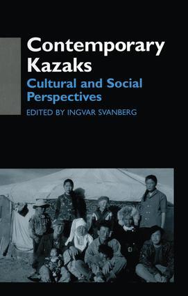 Contemporary Kazaks: Cultural and Social Perspectives (e-Book) book cover