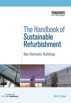 The Handbook of Sustainable Refurbishment: Non-Domestic Buildings book cover
