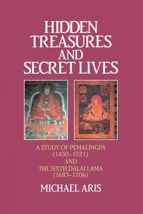 Hidden Treasures & Secret Lives: A Study of Pemalingpa (1450-1521) and The Sixth Dalai Lama (1683-1706), 1st Edition (Paperback) book cover