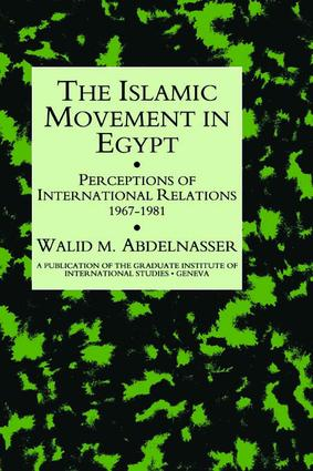 Islamic Movement In Egypt: 1st Edition (Paperback) book cover