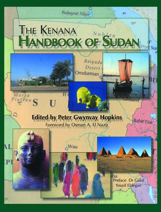 Kenana Handbook Of Sudan: 1st Edition (Paperback) book cover