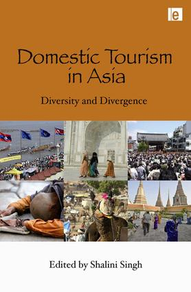 Domestic Tourism in Asia: Diversity and Divergence, 1st Edition (Paperback) book cover