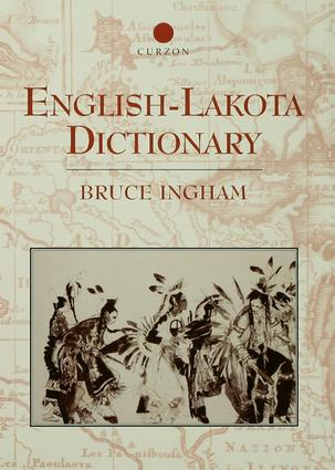 English-Lakota Dictionary: 1st Edition (Paperback) book cover