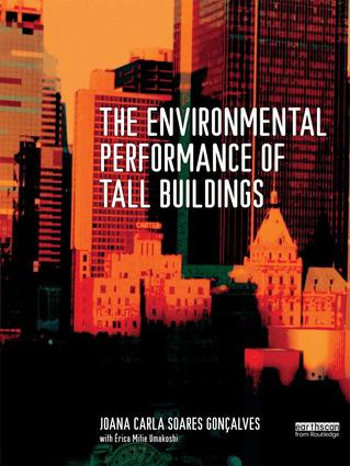 The Environmental Performance of Tall Buildings book cover