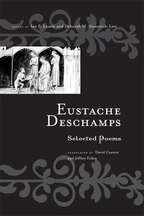 Eustache Deschamps: Selected Poems, 1st Edition (Paperback) book cover