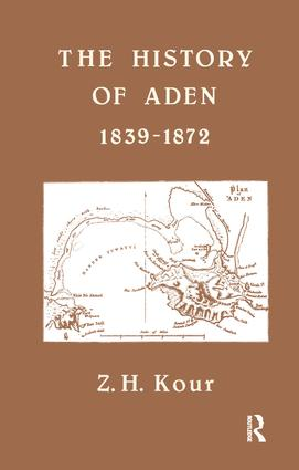 The History of Aden: 1st Edition (Paperback) book cover
