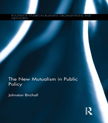 The New Mutualism in Public Policy: 1st Edition (Paperback) book cover