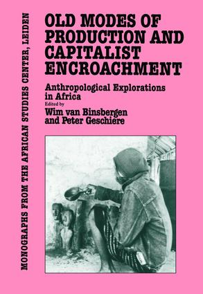 Old Modes Of Production and Capitalist Encroachment: 1st Edition (Paperback) book cover