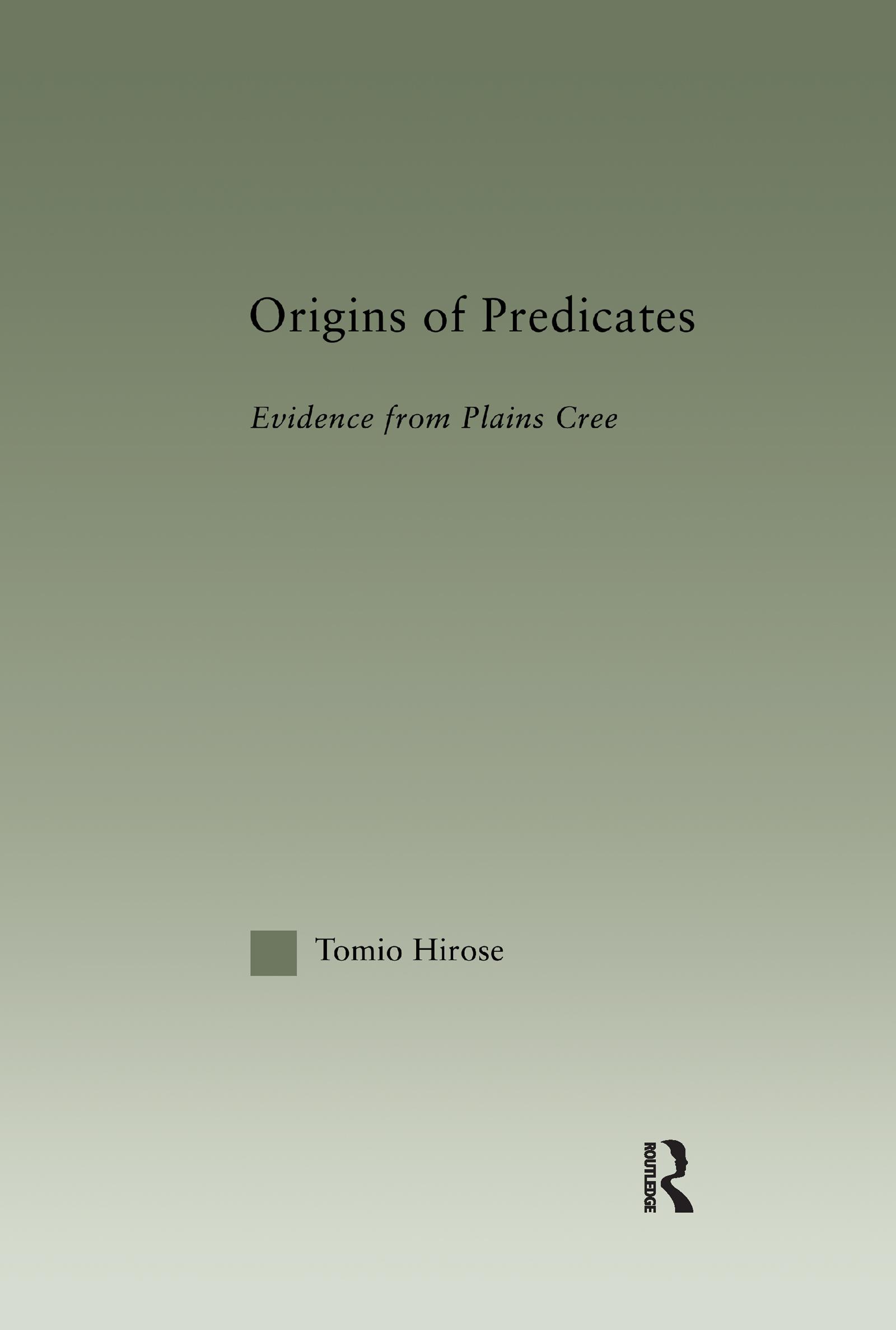 Origins of Predicates