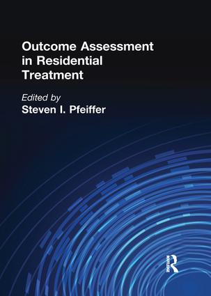 Outcome Assessment in Residential Treatment book cover
