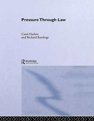 Pressure Through Law: 1st Edition (Paperback) book cover