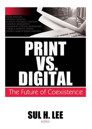 Print vs. Digital: The Future of Coexistence book cover