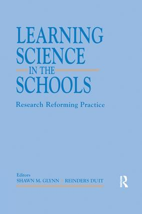 Learning Science in the Schools: Research Reforming Practice, 1st Edition (Paperback) book cover