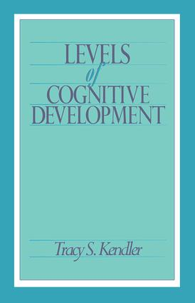 Levels of Cognitive Development: 1st Edition (Paperback) book cover