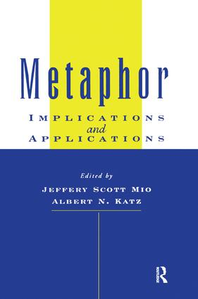 Metaphor: Implications and Applications, 1st Edition (Paperback) book cover