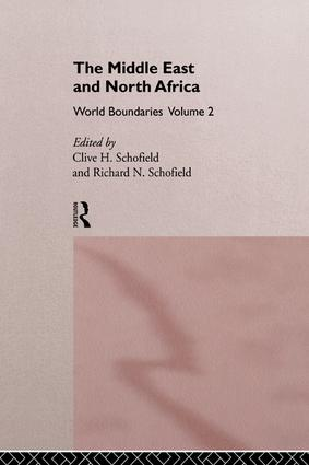 The Middle East and North Africa: World Boundaries Volume 2 book cover