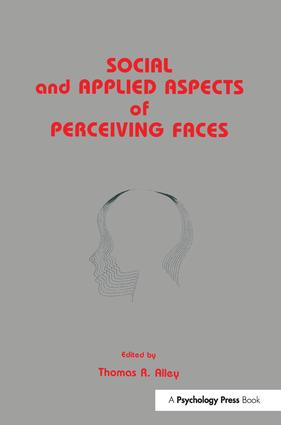 Social and Applied Aspects of Perceiving Faces: 1st Edition (Paperback) book cover