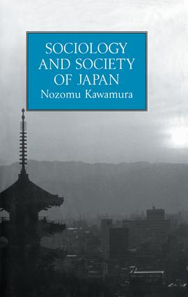 Sociology & Society Of Japan: 1st Edition (Paperback) book cover