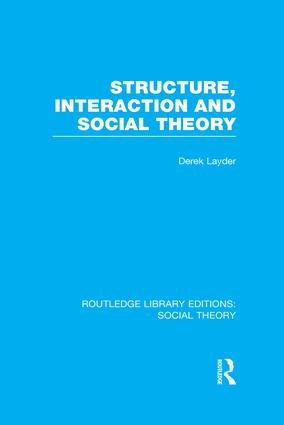 what is social structure theory