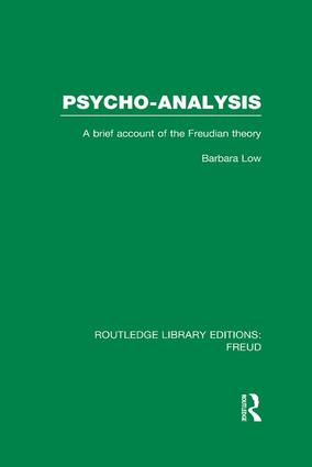 Psycho-Analysis: A Brief Account of the Freudian Theory, 1st Edition (Paperback) book cover