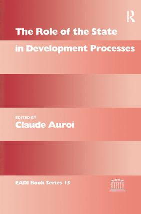 The Role of the State in Development Processes book cover