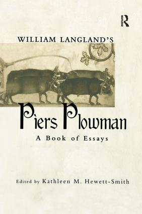 William Langland's Piers Plowman: A Book of Essays book cover