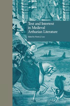 Text and Intertext in Medieval Arthurian Literature (e-Book) book cover