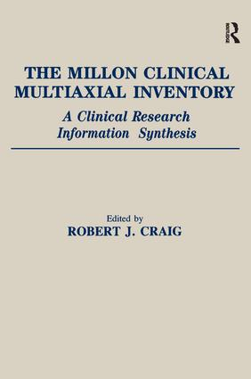 The Millon Clinical Multiaxial Inventory