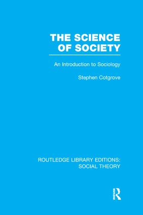 The Science of Society: An Introduction to Sociology book cover