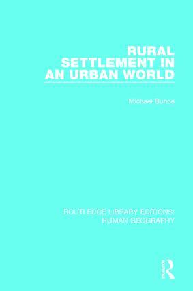 Rural Settlement in an Urban World book cover