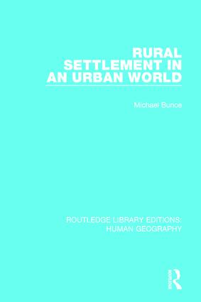 Rural Settlement in an Urban World book cover