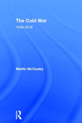 The Cold War 1949–2016 book cover